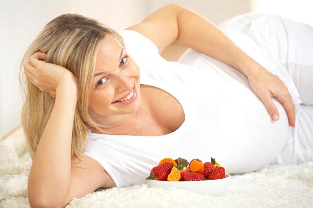 Как выглядит улыбка беременной