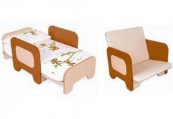 Кресло-кровать для детей — сон с пользой для здоровья