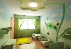 Возможности оформления детских комнат