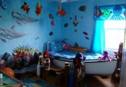 Создаём детскую комнату в морском стиле