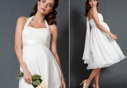 Как выбрать платье для беременной невесты?
