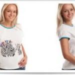 Футболки для беременных с чувством юмора