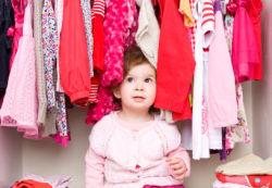 Детская одежда. Гардероб детей 3 лет
