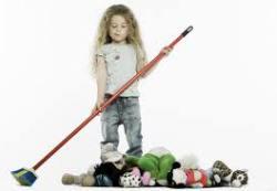 Как научить ребенка убирать за собой вещи