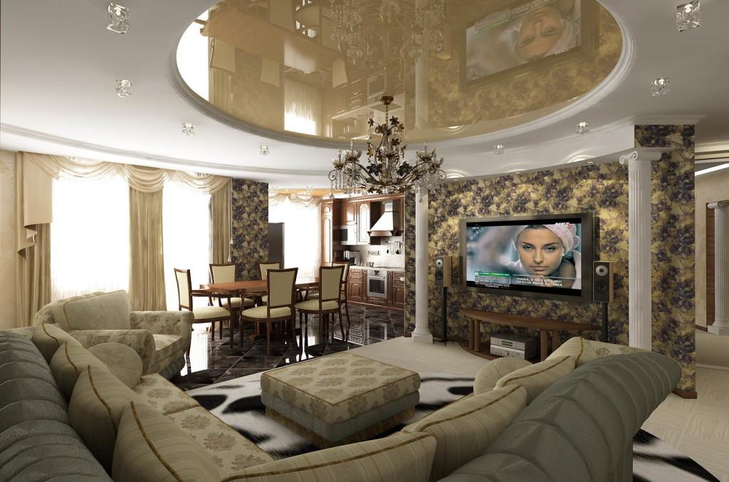 Классические дизайны интерьера квартиры