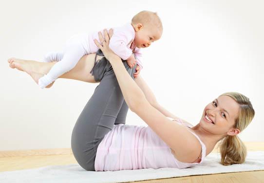 Как быстро привести фигуру в порядок после родов?