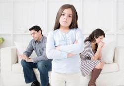 Развод родителей приводит к психосоматическим расстройствам у ребенка