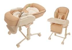 Колыбелька и стульчик для кормления — лучший выбор для ребенка