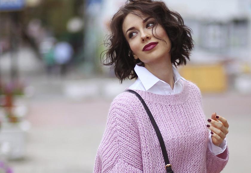 Свитер-оверсайз, самый модный тренд осени