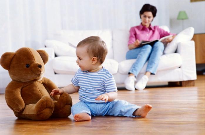 Как научить малыша самостоятельности