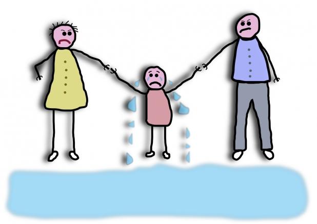 Пережить развод без травм для ребенка