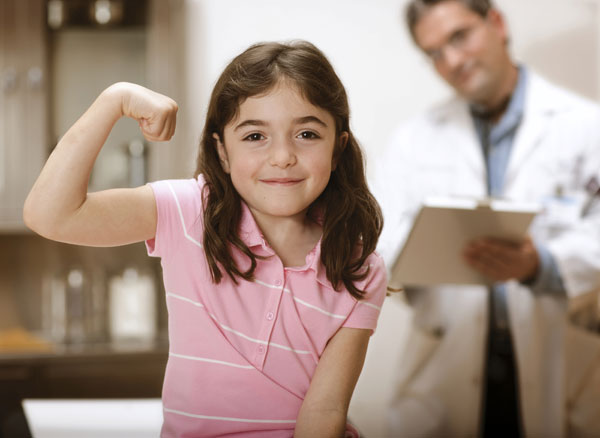 Девочка и гинеколог