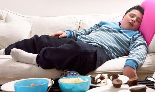 От избыточного веса дети становятся менее активными
