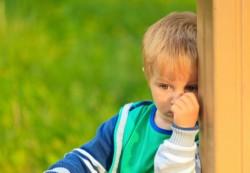 Ребенок, погруженный в себя