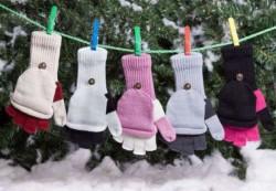 Детская мода: выбираем перчатки и варежки
