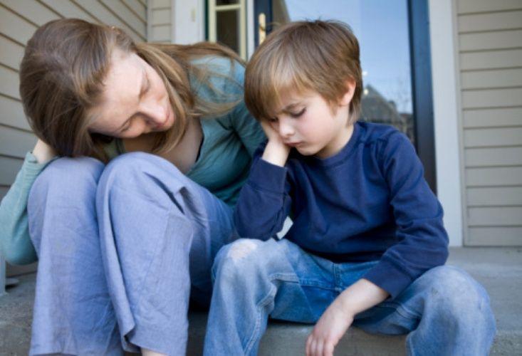 Тяжелое детство приводит к изменению белого вещества мозга
