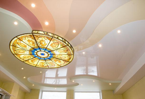 Натяжной потолок, что это такое и как он крепятся?