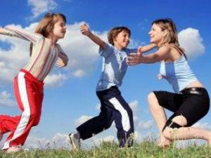 Помогите Вашим детям оставаться активными