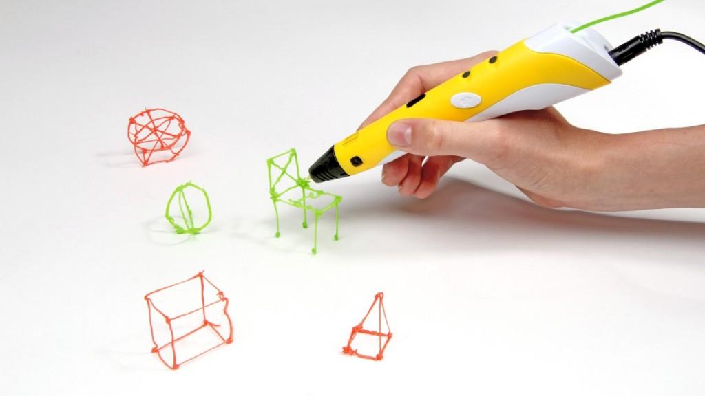 Какие бывают 3Д ручки