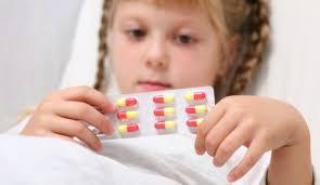 Лечение ребёнка антибиотиками