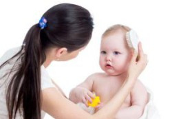 Способы и средства по уходу за волосами ребенка