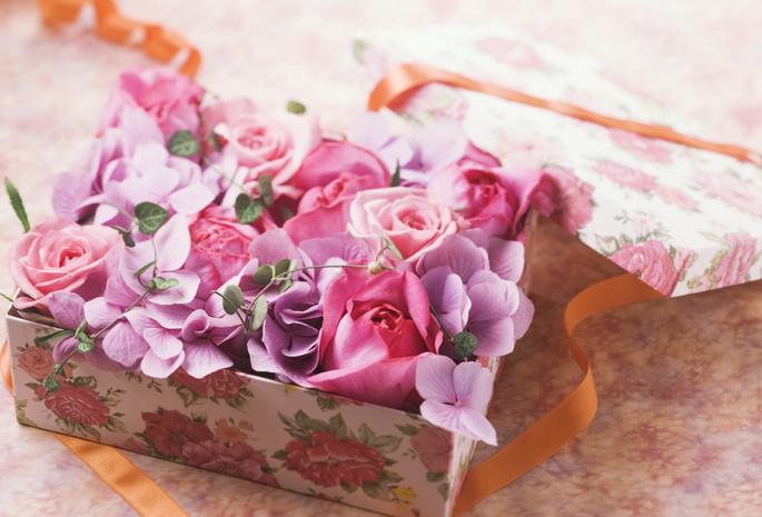 Цветы — подарок на все времена