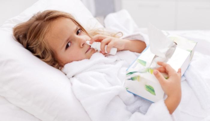 Простуда у детей