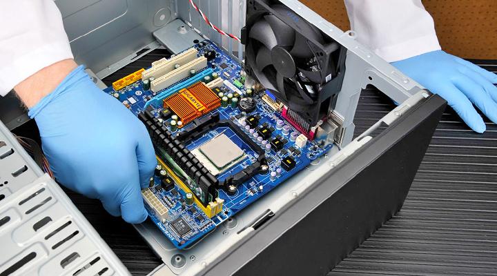 Компьютер. Устранение шума системного блока