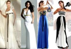 Платья в стиле ампир