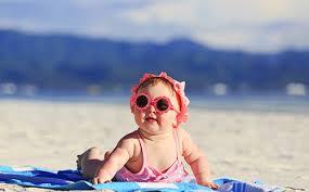 Солнечные ванны для закаливания малышей