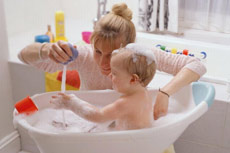 Простые игрушки для ванны