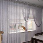 Изюминка интерьера нитяные шторы