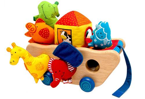 Лучшие игрушки для годовалых малышей