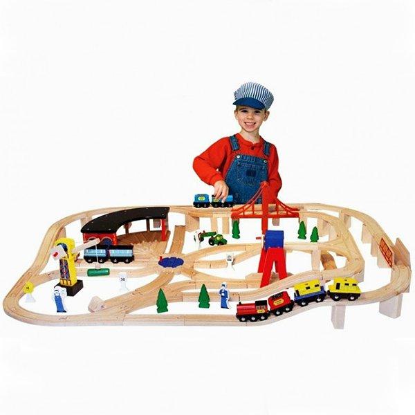 Выбираем ребенку железную дорогу