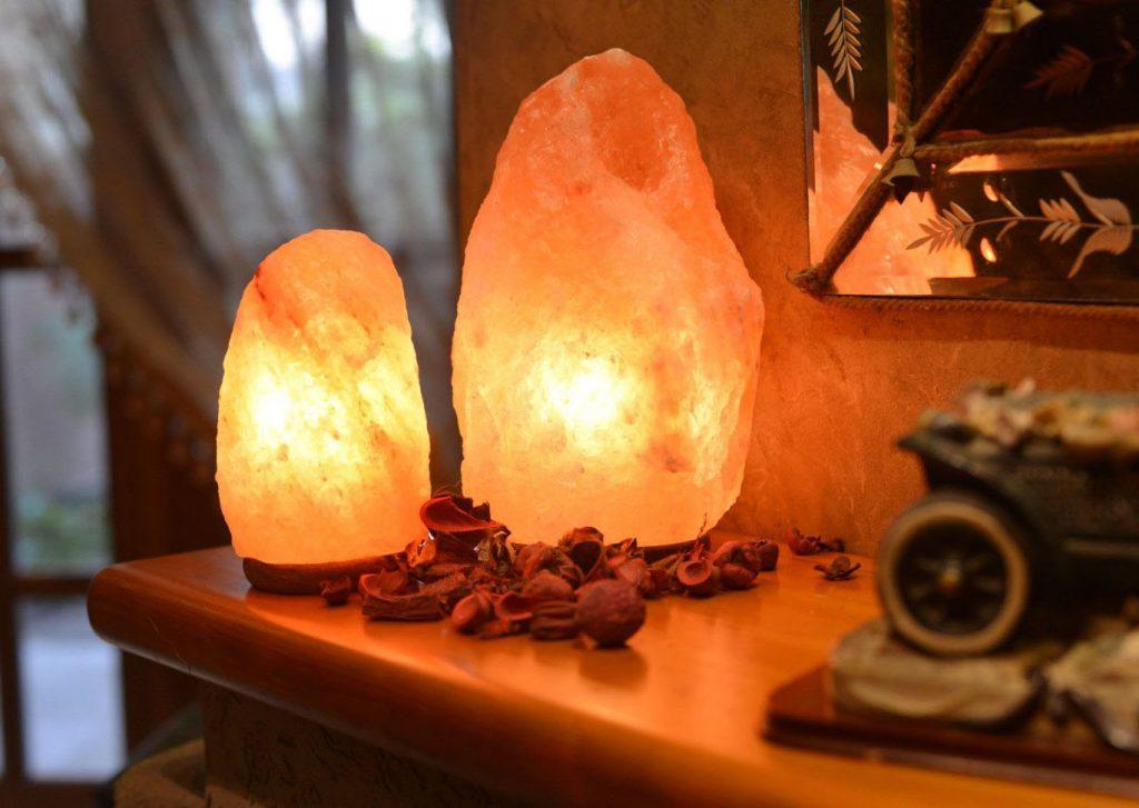 Что такое соляная лампа?