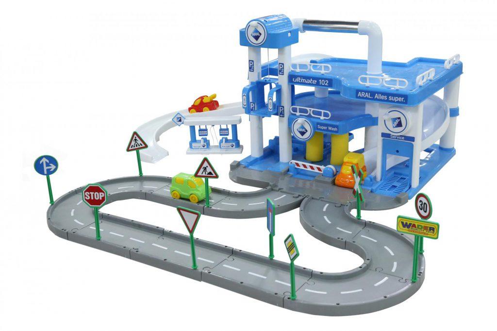 Игрушки треки и парковки