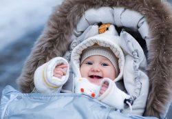 Выбираем зимний комбинезон для новорождённого