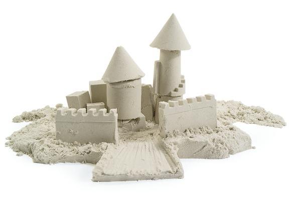 Кинетический песок — лучшая игрушка для детей