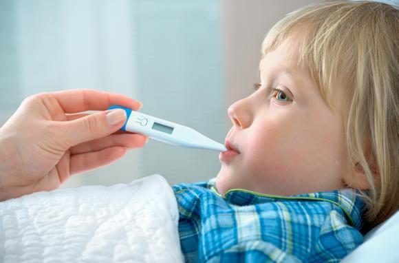 Причины простуды у детей