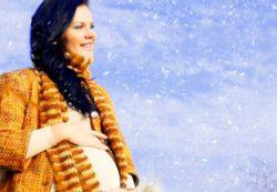 Быть беременной зимой: преимущества и недостатки