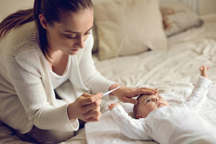 Высокая температура у ребенка:как сбить?