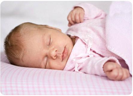 Движения грудничка во сне