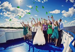 Выбор теплохода для проведения свадебного торжества