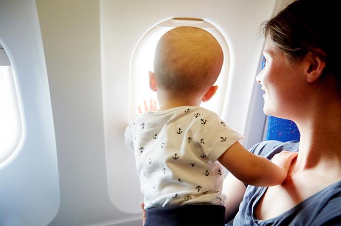 Главные правила перелетов с малышом