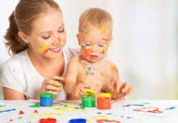 Разнообразие цветов и форм развивает младенцев