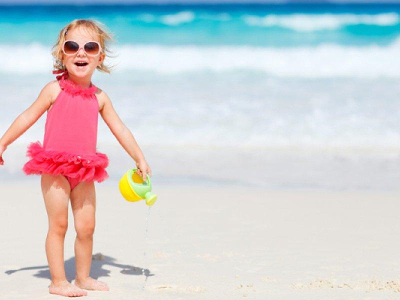 Детский купальник для девочки