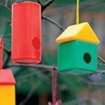 Как сделать кормушку для птиц своими руками: мастер-класс