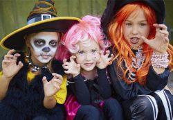 Детский праздник в стиле Хэллоуин