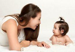 Зрительный контакт ускоряет развитие мозга ребенка