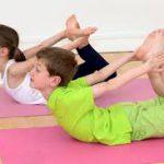 Снова о йоге для детей: комплекс упражнений